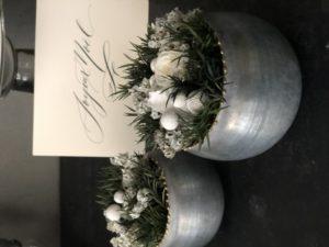 フラワーアレンジメント プリザーブドフラワー クリスマスアレンジメント 岐阜花屋
